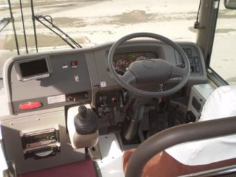 運転席の計器類の写真